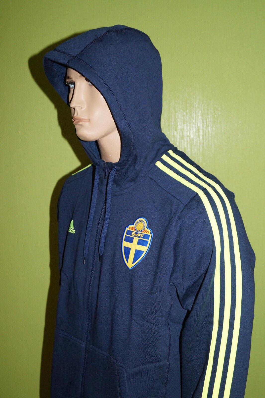 adidas Schweden Sweatjacke Jacke Sweatshirt Hoodie Gr. XL