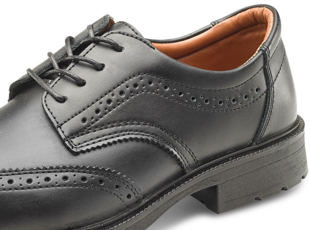 B-Click Footwear SW2011 Manager Anti-statica Safety Francesine Nero Nero Nero 798fa6
