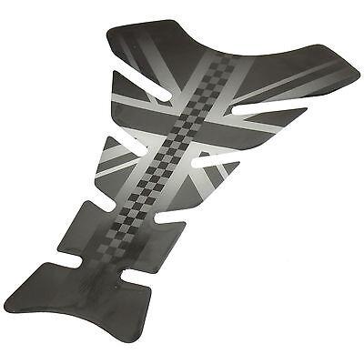 RYDE UNION JACK FLAG MOTORBIKE PETROL/FUEL TANK PAD MOTORCYCLE SCRATCH PROTECTOR