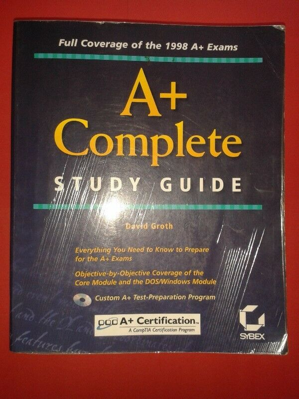 A+ Complete Study Guide - David Groth.