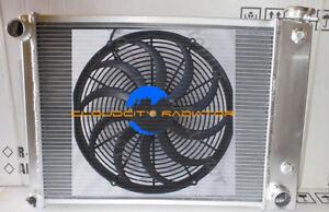 3 ROW ALUMINUM RADIATOR FOR 82-92 CHEVY CAMARO FIREBIRD V8 RS SS Z28