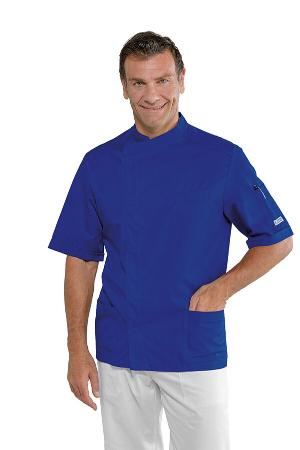 LARGE LOOSE SHIRT MAN PHILADELPHIA blueE CINEMA CHEF COOK ISACCO MADE IN ITALY