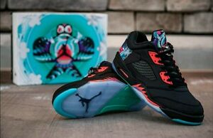 e2edbe3b1346 NIKE AIR JORDAN RETRO 5 Low Chinese New Year Size 13 CNY   AUTHENTIC ...