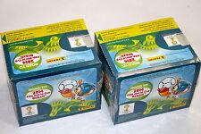 Panini ROAD TO FIFA WORLD CUP Brasil 2014 - 2 x DISPLAY BOX 100 Tüten packets