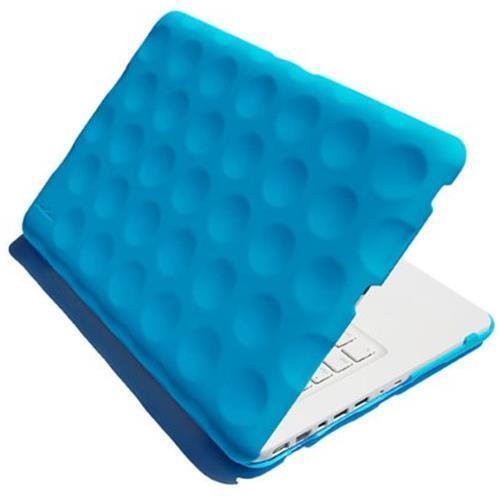 Hard Candy Cases Stealth Bubble carcasa funda para Apple MacBook 13-inch - Azul