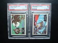 Lot A & BC 1966 *BATMAN - Black Bat* PSA 7 Cards #52 & #54 *LOW POP's 1/1 & 1/2!