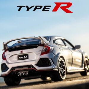 1-32-Honda-10th-Civic-Typer-R-Metal-Diecast-Model-Car-Toy-Collection-Sound-amp-Light