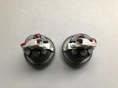 Nissan 370z Z frase guardabarros intermitentes para IZQUIERDO /& DERECHO side Turn Signal
