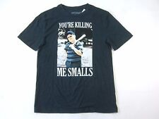 THE SANDLOT MOVIE GRAY BLUE MEDIUM HAM KILLING ME SMALLS FUNNY TSHIRT MENS NWT
