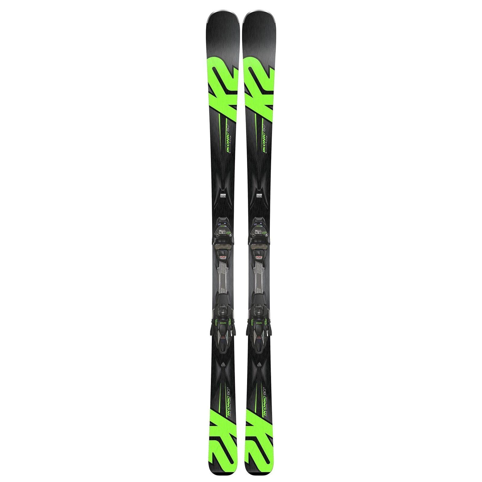 Recreational K2 1426058 K2 Recreational iKonic 80 Ti Ski + MXC 12 TCx Light bindings - 170cm 2f4424