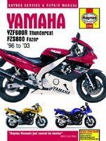 Haynes Service Manual 3702 Yamaha Fzs600 Fazer 1998 99 00 01 02 03, Fz600s 2001