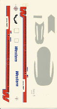 WESTERN 727 1:200 SCALE DECAL