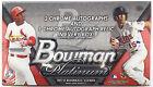 2014 Topps Bowman Platinum MLB Factory Sealed Baseball Hobby Box