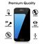 miniature 5 - amFilm Samsung Galaxy S7 Full Cover Tempered Glass Screen Protector (Black)