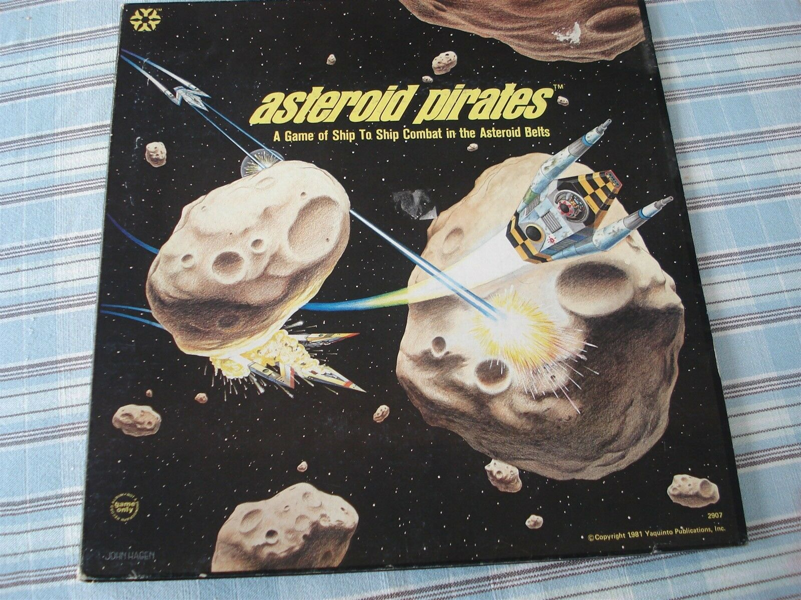 ASTEROID PIRATES GAME - ASTEROID PIRATES - 1981 - YAQUINTO - SHIP TO SHIP COMBAT