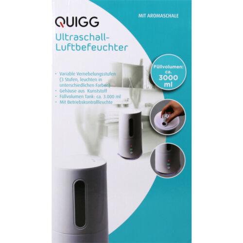 Ultraschall Luftbefeuchter mit Aromaschale Vernebelu Luftentfeuchter Quigg