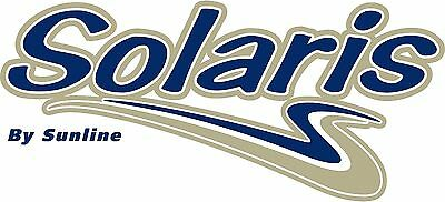 "NEW SunLine Solaris camper travel trailer 14/"" vinyl decal"