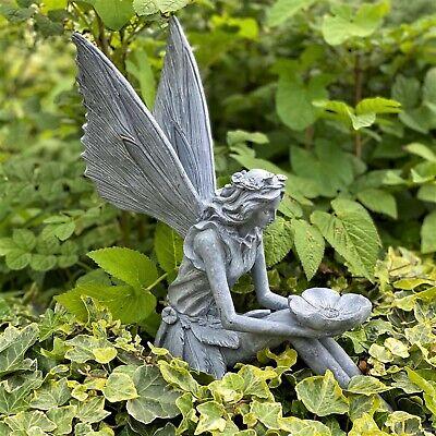 Garden Ornament Fairy Sculpture Antique, Fairy Garden Statues Canada