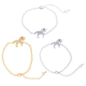 Shiny-Crystal-Unicorn-Bracelet-Girls-Woman-Horse-Bangle-Charm-Jewelry-Accessory