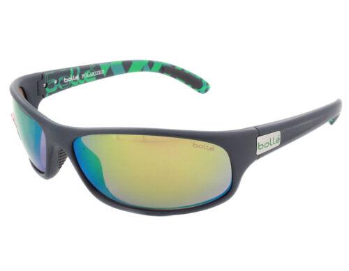 Bolle Anaconda Lunettes de soleil 12081-Matte Bleu//vert avec Polarized Brown Emerald