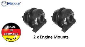 For Porsche 924 944 968 Engine Mount Set of 2 High Quality 95137504204