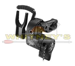 QAD Ultra Rest serie HDX gota de distancia-Mano Derecha-Negro-uhxbk-R
