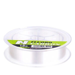 200yds 100/% Fluorocarbon Fishing Line Sink Fast Fly Fishing Leader Line Clear