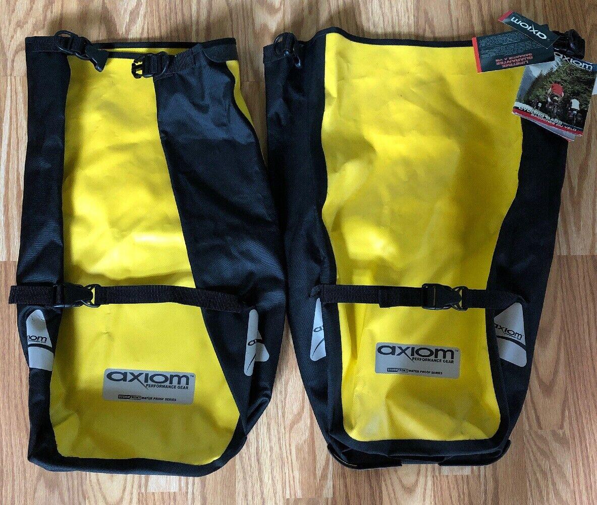 ciclismo borsas NWT Axiom doppio Side ciclismo borsas Storm davanti  Water Proof Series