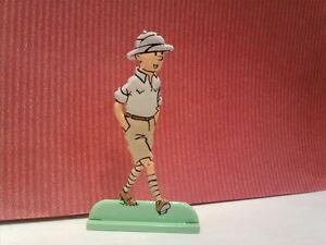 Pozostałe Figurine Métal Tintin aux Briques MOULINSART Zabawki