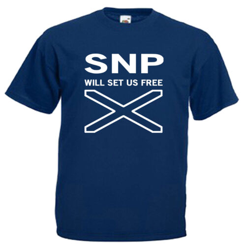 SNP will set you free Adultes Homme T shirt 12 Couleurs Taille S 3XL