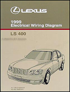 image is loading 1999-lexus-ls-400-wiring-diagram-manual-new-