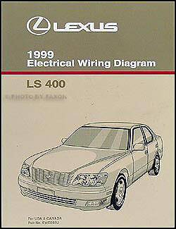 1999 Lexus LS 400 Wiring Diagram Manual NEW Original LS400 OEM Electrical  Book | eBay | 1998 Lexus Ls 400 Wiring Diagram |  | eBay