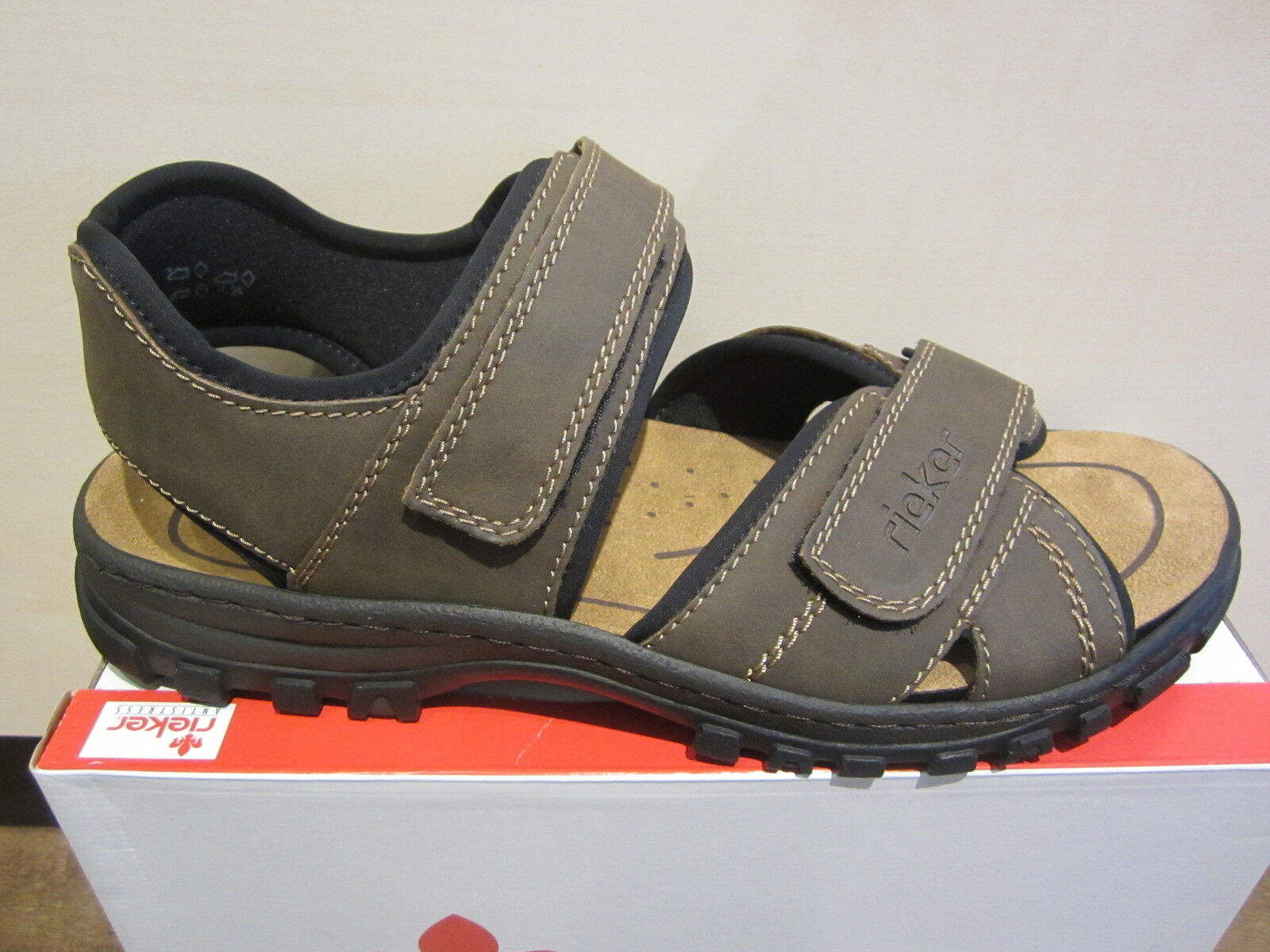 Rieker Sandals Touch Sneakers Brown Touch Sandals Fastener 25051 New b026a2