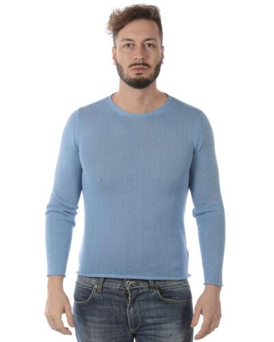 Italy 21 Maglia In Alessandrini Fmcl43701 Made Uomo Sweater Azzurro Daniele qxwpXwBafP