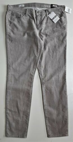 Skinny Jeans GAP Womens Cords UK S 14 W 32 Women Corduroy Creased Trousers £44.9