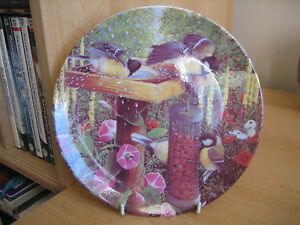 COALPORT 039GARDEN VISITORS039 COLLECTORS PLATE  TABLE MANNERS BY BARBARA MITCHELL - Wilmslow, Cheshire, United Kingdom - COALPORT 039GARDEN VISITORS039 COLLECTORS PLATE  TABLE MANNERS BY BARBARA MITCHELL - Wilmslow, Cheshire, United Kingdom