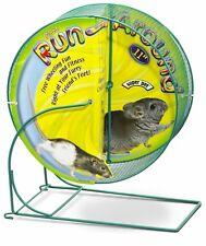 Kaytee Run-Around Wheel Giant 11 inch Diameter Free Wheeling Fun Chinchillas Rat