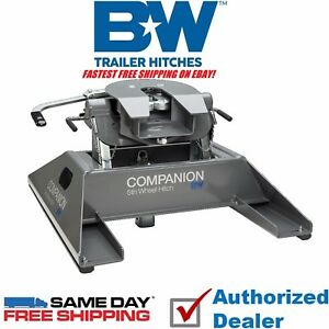 Fifth Wheel To Gooseneck Hitch >> Details About Rvk3500 B W Companion 5th Wheel Rv Gooseneck Hitch Adapter Fast Free Shipping