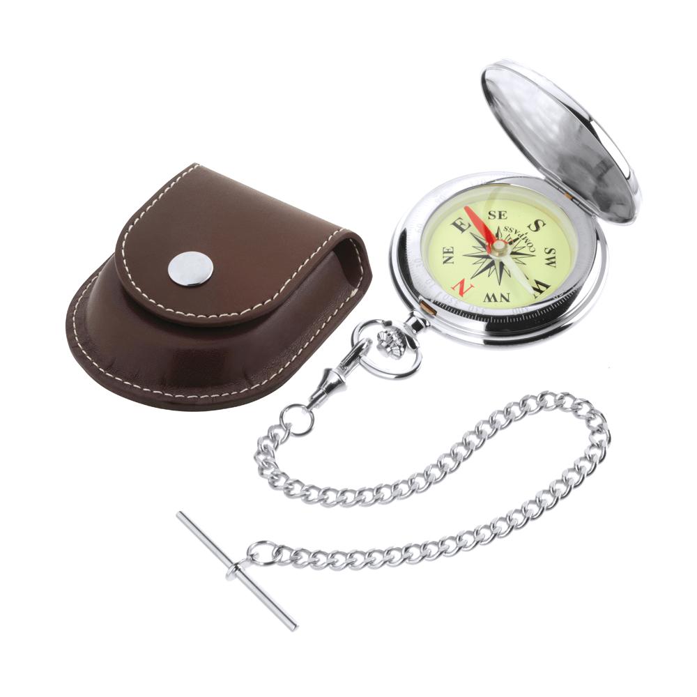 Designer - Jean Pierre of Switzerland - Classic Pocket Compass D5