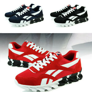 Hombre-Casual-Caminar-Zapatillas-Sneakers-Tamano-de-Malla-de-Calzado-Deportivo-Fitness-Transpirable