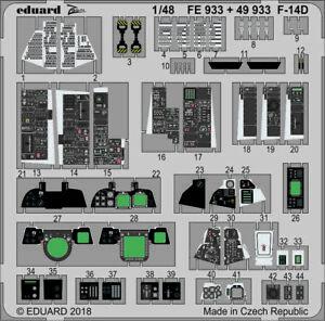 Eduard-Zoom-FE933-1-48-Grumman-F-14D-Tomcat-Tamiya
