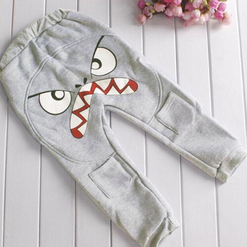 Kid Boy Toddler Harem Pant Casual Cotton Trousers Loose Hip Hop Bottoms Leggings
