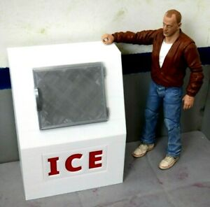 RC-1-10-Scale-ICE-Box-Shop-Garage-Rock-Crawler-Doll-House-Accessories-USA
