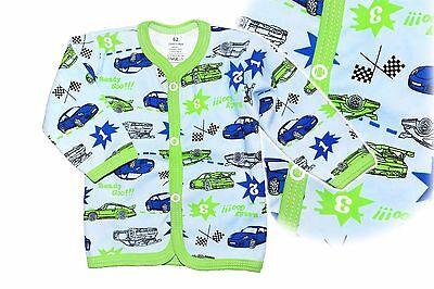 NEW Baby Boy Top Cardigan Size 000 00 0 1 2 Quality Cotton Retro Porsche EU Made