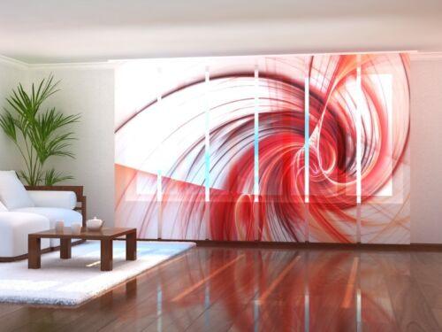 coulissante rideaux avec photo sur mesure coulissante rideau Fotogardine Abstraite Art