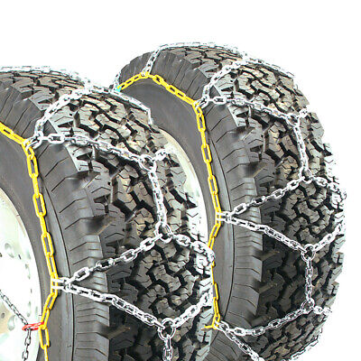 Titan Passenger Cable Tire Chains Snow or Ice Covered Road 8.29mm 235//40-19