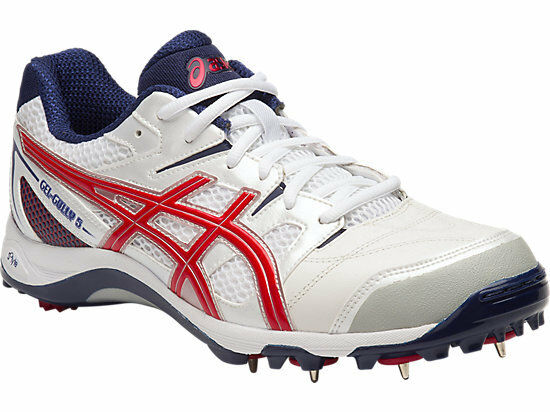 Asics Gel Gully 5 Mens Cricket Shoe (D) (0123)