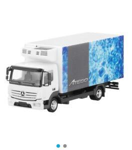 Mercedes Atego 817 2013 Camion Fourgon Réfrigérateur 4x2 B66004097 1:87 Herpa (Modèle du concessionnaire)