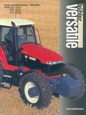 Bühler Buhler Versatile Genesis Trecker Prospekt 2003 Broschüre Landmaschine