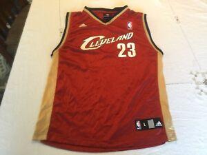 070633c3cb9c2 Image is loading Cleveland-Cavaliers-Lebron-James-Adidas-Jersey-Kids-Boys-